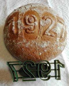 Brotstempel mit Jahreszahl